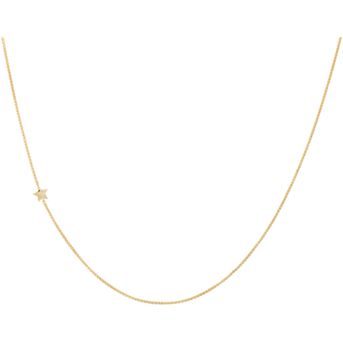 ANNA+NINA - Stellar Necklace Silver Goldplated