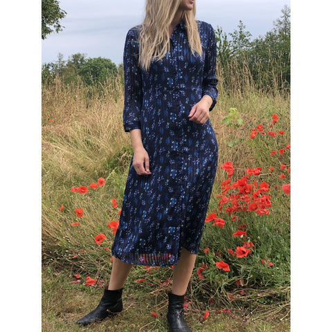 YAS - Richa Midi Dress Navy