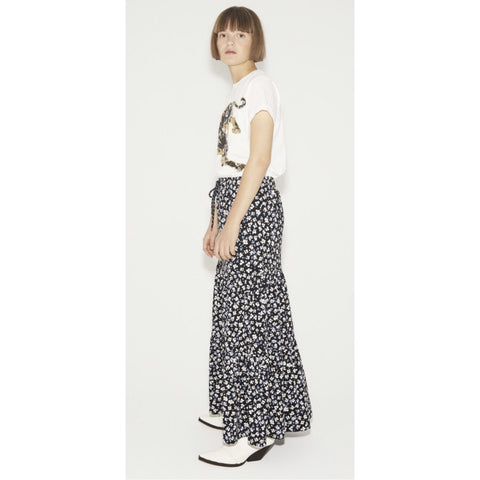 Munthe - Grape Jersey Skirt Black