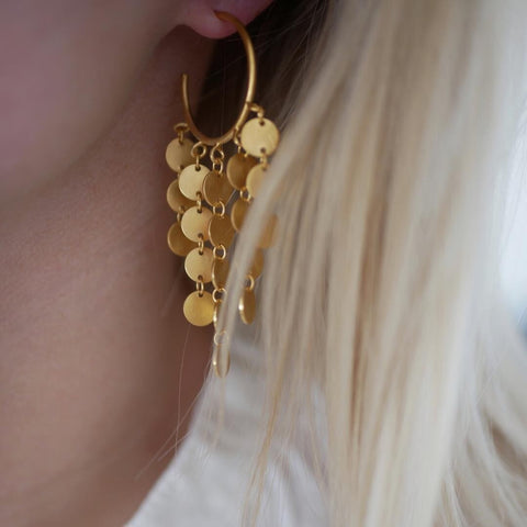 Enamel Cph - Earring Sunrays Gold
