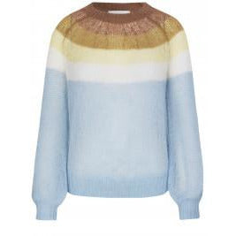 NYHED - Munthe - Dinner Knit Blue