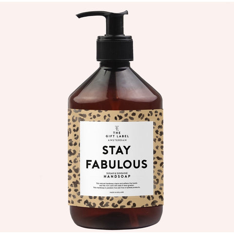 The Gift Label - 'Stay Fabulous' Håndsæbe