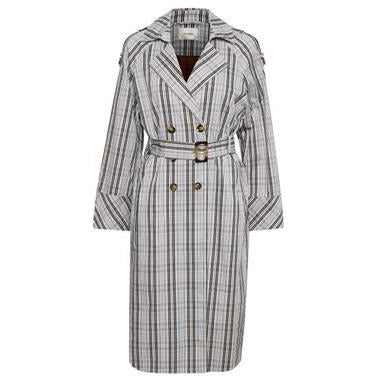 Gestuz - Alifa Trenchcoat MS19 Check