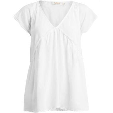 Rabens Saloner - Julianna Top White