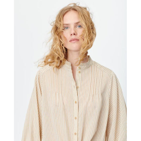 Munthe - Milla Long Shirt Sand