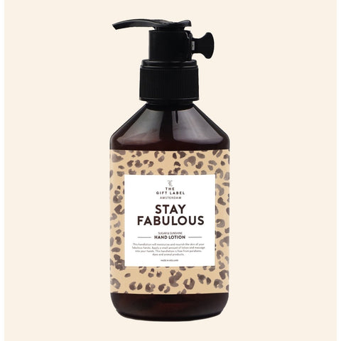 The Gift Label - 'Stay Fabulous' Håndcreme