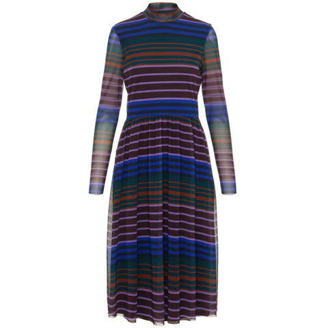 Y.A.S - Yasstrivia Mesh Dress  Multi