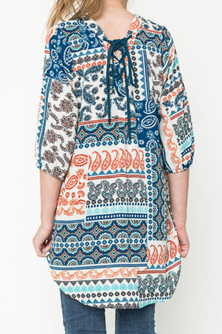Patchwork Tunic - Girls