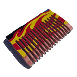 Skate Comb - Medium Flames