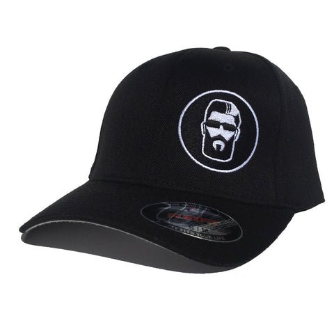 Embroidered Flex Fit Hat (Black)