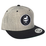 Snapback Hat (Grey/Black)