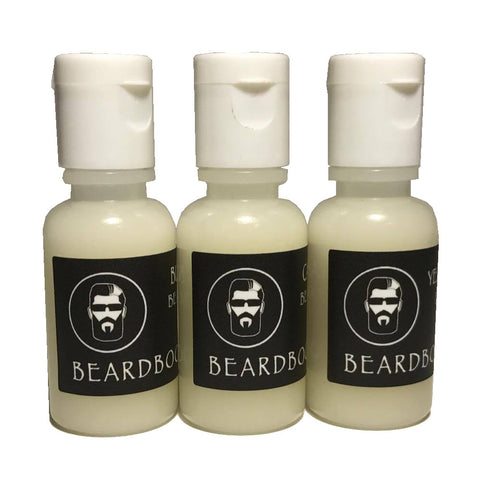 Beard Wash Samples (3 Scents of Choice)