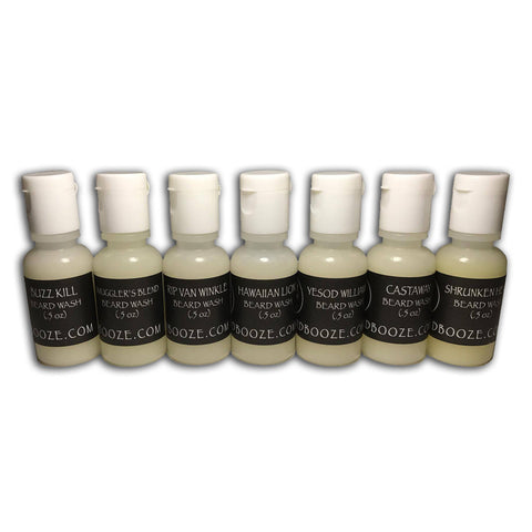 Beard Wash Samples (7 Scents)