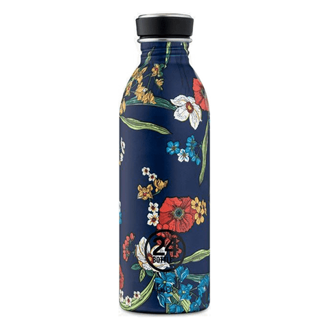 Botella Ecológica Denim Flores 500ml - Mie Moe