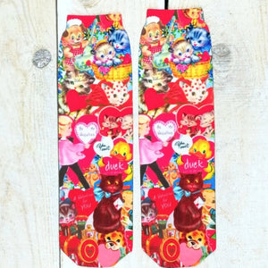 Calcetines Retro Love - Mie Moe