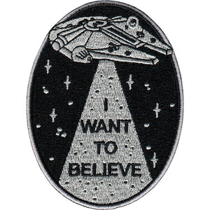 Parche I Want to Believe - Mie Moe