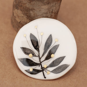 Broche Nature Redondo - Mie Moe