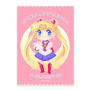 Postal Sailor Moon - Mie Moe