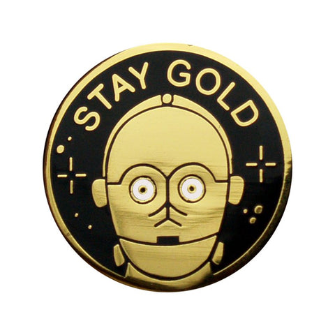 PIn Stay Gold - Mie Moe