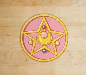 Pegatina Sailor Moon Broche - Mie Moe