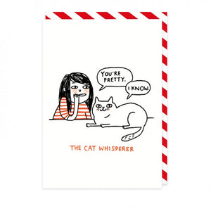 Postal Cat Whisperer - Mie Moe