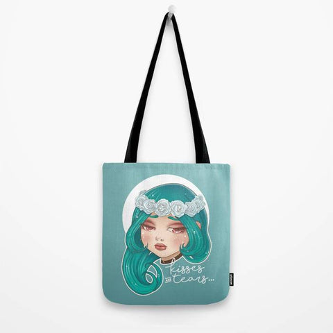 Bolso Tote Bag - Kisses and Tears - Mie Moe