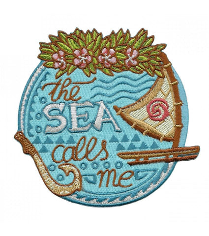 Parche The Sea Calls Me - Mie Moe