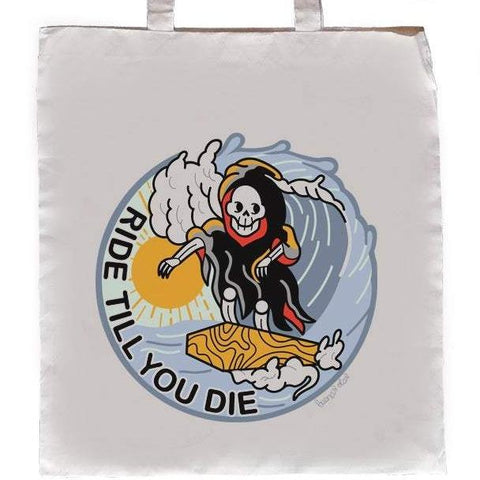 Bolso Tote Ride untill You Die - Mie Moe