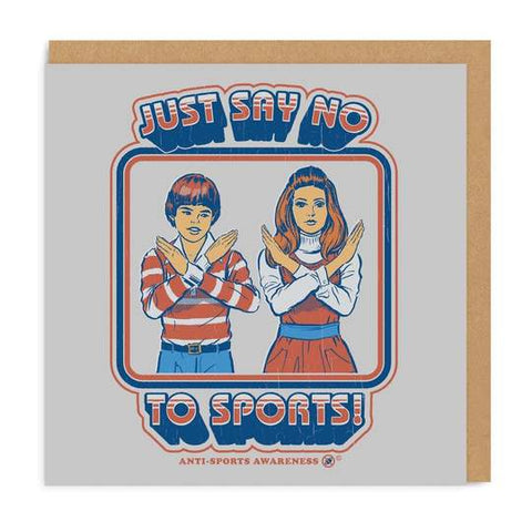 Postal Say No To Sports - Mie Moe