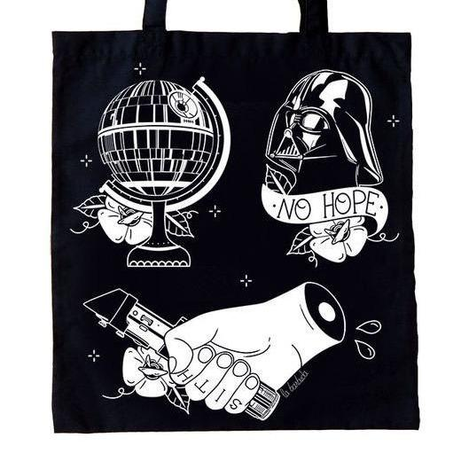 Bolso Tote Dark Side - Mie Moe