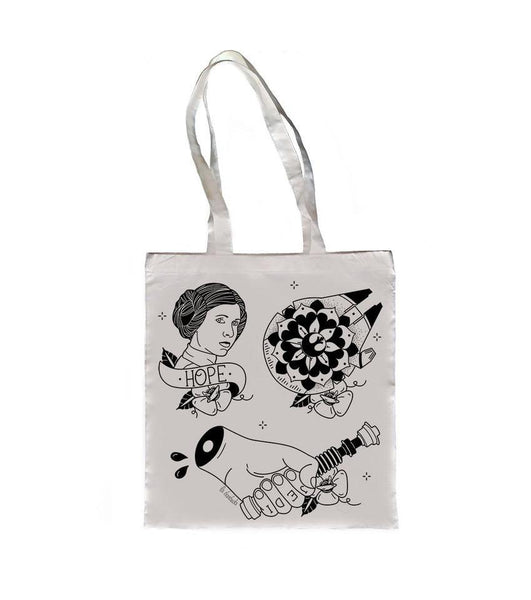 Bolso Tote Bag Light Side - Mie Moe