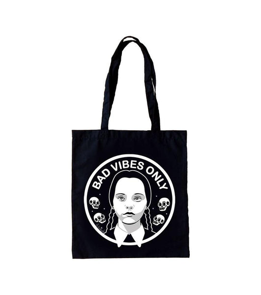 Bolso Tote Bag Bad Vibes Only - Mie Moe