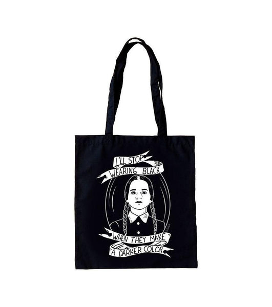 Bolso Tote Bag I'll Stop wearing black - Mie Moe