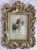 Antique Gold Ornate Picture Frame 5'x7'