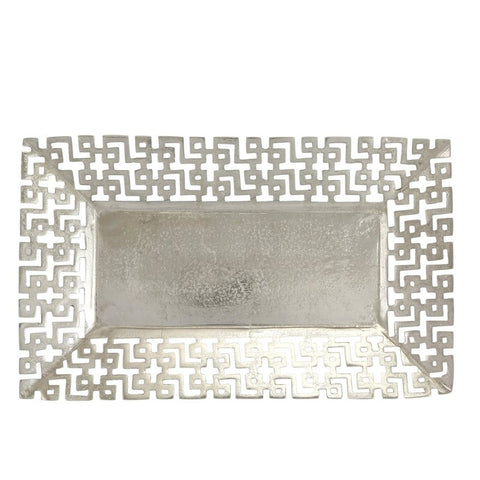 cutaway nickel rectangle tray