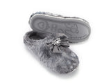 Grey Sabrina Ladies pretty you london slipper