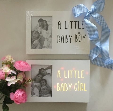Baby LED Photo Frame