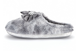 Luxury Ladies Sabrina Grey Mule Slipper