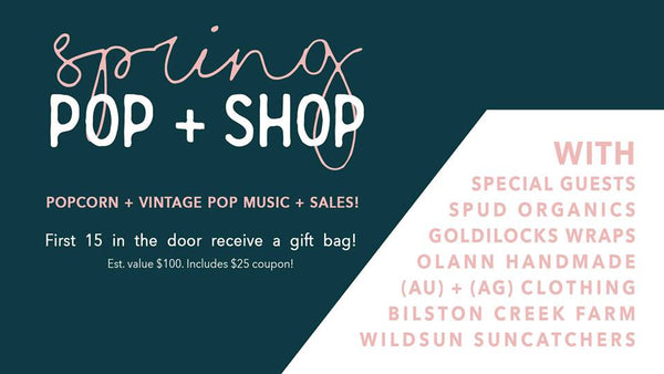 Mar. 24  |  Spring Pop & Shop