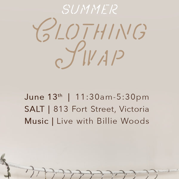SUMMER CLOTHING SWAP  |  June 13