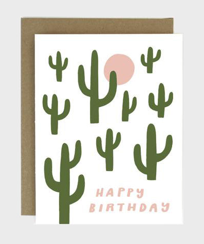 Card  |  Birthday Cactus