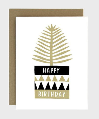 Card  |  Birthday Potted Plant