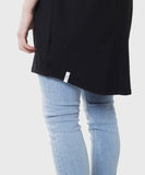 Oceana Cardigan  |  Black French Terry