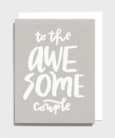 Card  |  Awesome Couple - SALT Shop