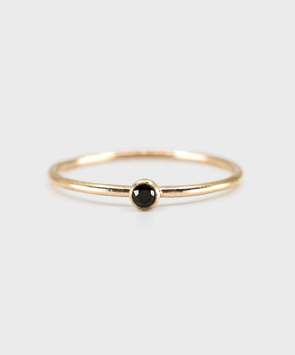 2.0 Bezel Ring  |  14k Yellow Gold Filled