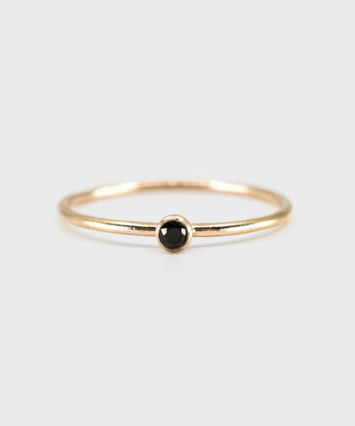 2.0 Bezel Ring  |  14k Yellow Gold Fill
