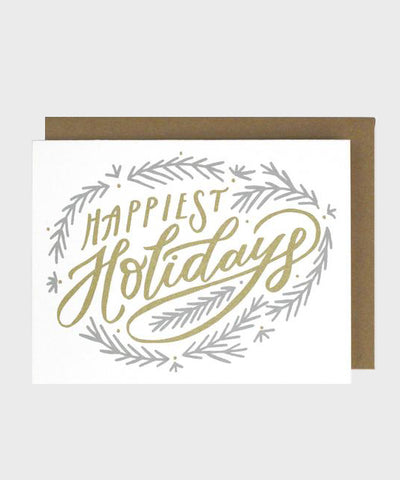 Card  |  Happiest Holiday