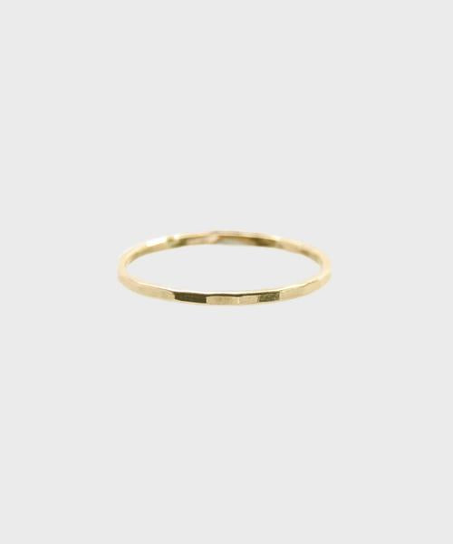 Hammered Stacking Ring - SALT Shop