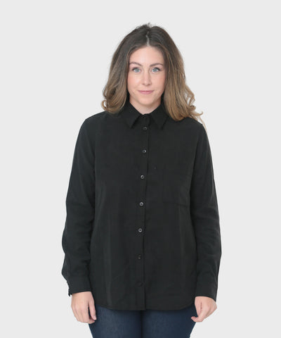 Ren Button Up | Onyx