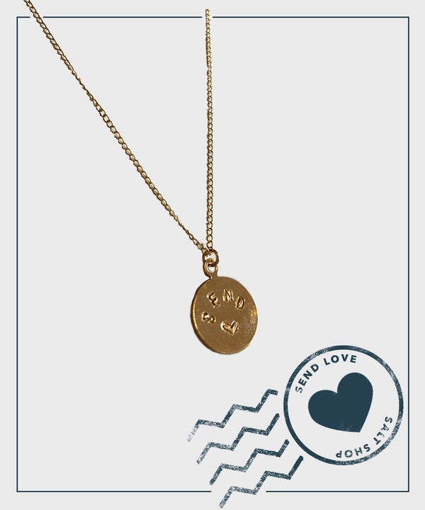 Send Love Necklace  |  With Hart + Stone - SALT Shop